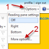 Disable Active View In Hotmail